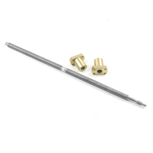 Tr12X4 Good Quality Lead Screw with Two Nuts