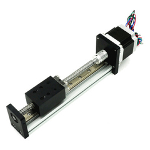 400mm Stroke High Rigidity ball screw driven linear module For CNC Machine